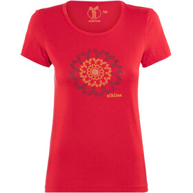 Elkline Memory Kortærmet T-shirt Damer rød